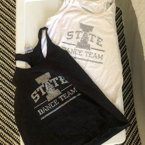 Iowa state dance team tank tops